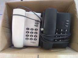 Lote com telefones fixos Intelbras pleno (somente venda)