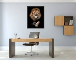 Quadro de Leão Grande