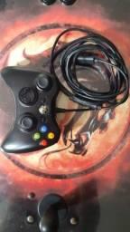 Controle original com fio XBOX 360 - Recomdicionado - Microsoft