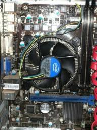 Vendo Computador:Placa mãe H61M-P31(g3) + i3 com cooler + Gabinete (LEIA A DESCRIÇÃO)