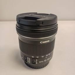 Lente Canon Eds 10-18mm - Estado de nova