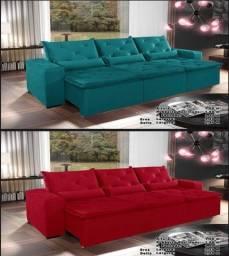 Promoção  sofá  retrátil  3 lugares