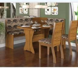 Sala mesa jantar 6 cadeiras e canto alemão  ZAP *