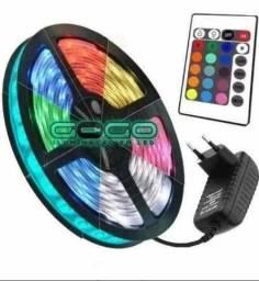 Fitas led RGB 5050 completa zerada