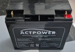 Bateria selada 12V 18Ah  R$ 250