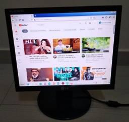 Monitor LG LED 15 polegadas completo, novinho