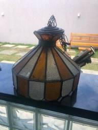 Vendo lustre Vitral usado em ótimo estado.