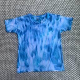 Camisa tie-dye infantil