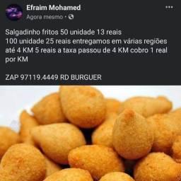 Salgadinhos fritos