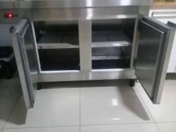 Freezer e Geladeira Industrial de Inox