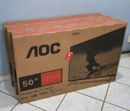 TV smart 50 polegadas - vendida por loja - com garantia