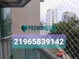 Proteção para janelas: redes
