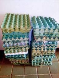Bandejas de ovos vazia