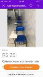 Cadeira escolar no precinho para vender hoje