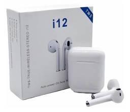 Fone de ouvido i12 TWS - Sem fio/Bluetooth