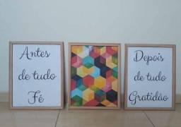 Quadros decorativos A4