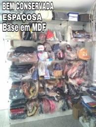 Vitrine Modular em vidro - Base em MDF