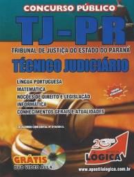 Apostila Usada - Edição 2013 - Técnico Judiciário (TJ-PR) sem cd