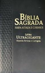 Bíblia Sagrada com Harpa Avivada e Corinhos- Ultragigante