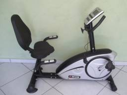 Bicicleta Ergométrica Eletromagnética Horizontal Kikos KR 8.6 - Novíssima