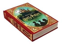 Livro Harry Potter E A Pedra Filosofal (ilustrado Por Minali)