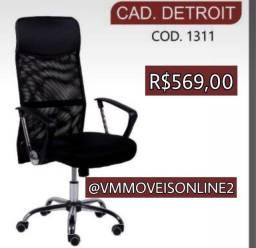 Cadeira Office Detroit Entrega Goiânia e Aparecida
