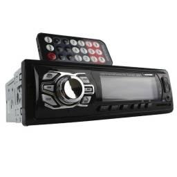 Título do anúncio: Rádio Automotivo USB Mp3 Auxiliar Player Bluetooth Knup - Loja Coimbra Computadores