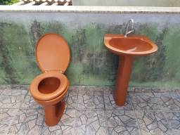 Vaso Sanitário e Lavatório