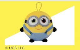 Boneco Pelucia de Pendurar Minion Bob Original