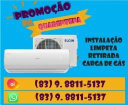 Limpeza, instalação e manutenção de Ar Condicionado