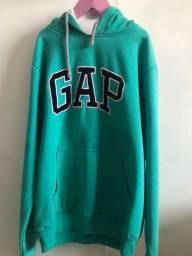 casaco GAP verde água