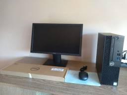 PC completo dell i5 7geração 8gb ddr4 windows 10
