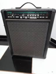 Kit completo Amplificador Bluetooth/instrumento e Microfone