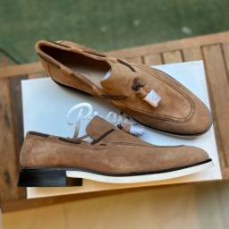 Título do anúncio: Sapato Casual Loafer Dan Avelã Brogan 41