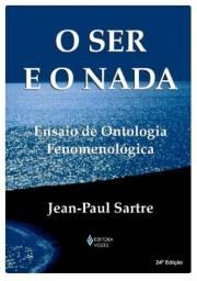 Livro-O Ser e o Nada-Sartre-Novo-24º Edição