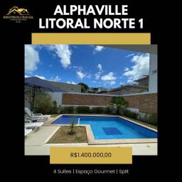Alphaville Litoral Norte 1 Casa 4 Suítes