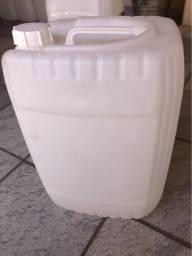 Galão de 20 litros para produtos alimentícios