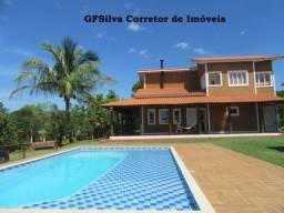 Chácara 2.000 m2 Condominio Res. mobiliada 4 dorm. internet Ref. 430 Silva Corretor