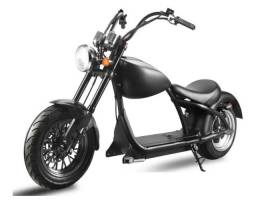 Moto elétrica estilo Harley