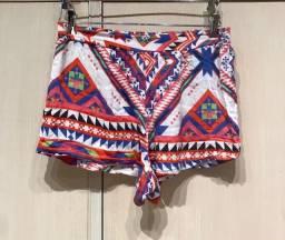 Shorts coloridinho