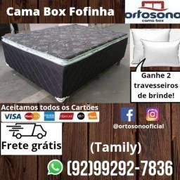 Cama Box Casal Premium Fofinha