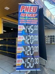 Pneu apartir R$ 120.00  LEIA O ANÚNCIO