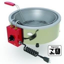 Fritadeira tacho 7 litros elétrica - Equipafácil