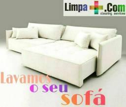 Lava sofá a seco @limpamais.com