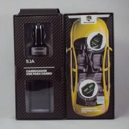 Carregador USB portátil para carro