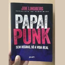 Livro Papai Punk de Jim Lindberg
