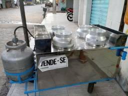 Carrinho pra vender sopa manguza etc...