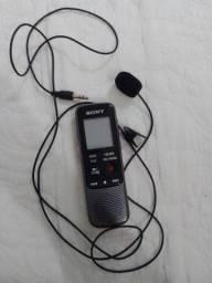Gravador de áudio/ voz, pra filmagem e vídeo Sony px240 funcionando.