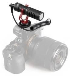 Microfone Boya By-MM1 Micro Direcional para Smartphones e Cameras Canon, Sony, Nikon