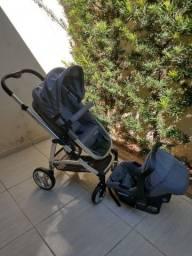 Carrinho De Bebê Travel System Infanti Epic Duo Lite Grey Classic